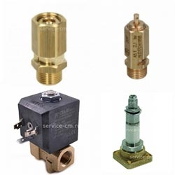 Клапаны аварийные, атмосферные, электромагнитные
