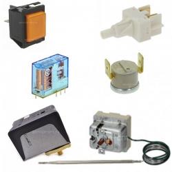 Коммутация, выключатели, термостаты, прессостаты