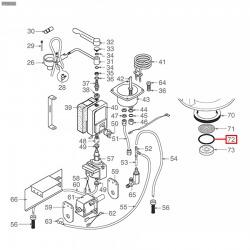 Уплотнитель OR 03112, ø 33,49x28,25x2,62 мм, EPDM, 3186247