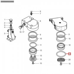 Уплотнитель OR 06212, ø 64,02x53,34x5,34 мм, EPDM, 1186673