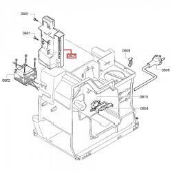 Силовой модуль для кофемашины Bosch TCA5309, Siemens TK53009, 00753567
