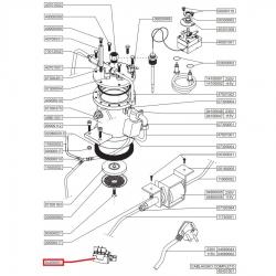 Двухполюсный выключатель 16А 250В Nuova Simonelli, 04200051