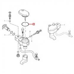 Уплотнитель OR 2125 EPDM, 046861