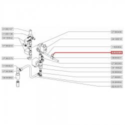 Зажим-ручка трубки капучинатора, 05000032