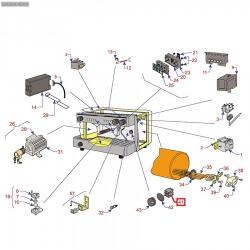 Переключатель пакетный 4RH,16A 250В, трех позиционный, 07847908