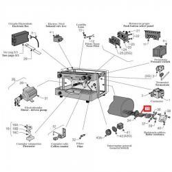 ТЭН 3 кВт 230В, раб. длина 250 мм - 4 конт., 08024804