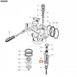 Уплотнитель OR 03075, ø 23,96x18,72x2,62 мм, EPDM, 1186356