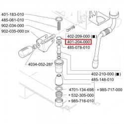 Уплотнитель 1.78 мм - ø 10.82 мм, OR 02043 EPDM, 401204000
