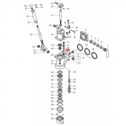 Уплотнитель комплект из 2 штук PTFE, 109021