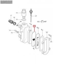 Уплотнитель OR 0164, ø 67,39x60,33x3,53 мм, EPDM, 1186230