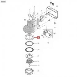 Уплотнитель холдера 72x58x7 мм, 1186838