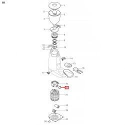 Уплотнитель OR 02106, ø 30,26x26,70x1,78 мм, EPDM, 3186343
