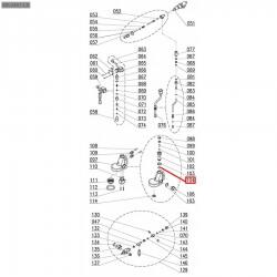 Уплотнитель OR 0128, ø 25,87x20,63x2,62 мм, EPDM, 3186183
