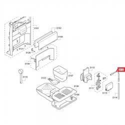 Шланг капучинатора TES, ES Bosch, 12004554