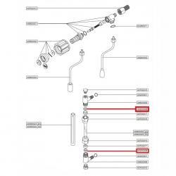 Уплотнитель смотровой трубки ø 16x10x8 мм EPDM, 12200
