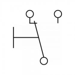 Микровыключатель 16(4)A 250В, A2100091