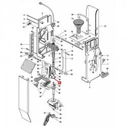 Уплотнитель OR 04093, OR 0131, ø 30,46x23,4x3,53 мм, силикон, 1786050
