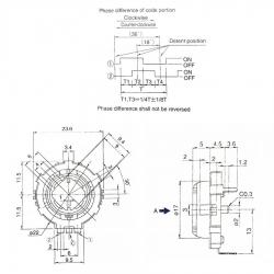 Энкодер выбора программы Bosch TES, 21200313