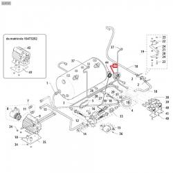 Манометр помпы 0-16 Бар, ø 52 мм, ø 1/8''M, 3781135801