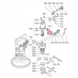Контактный термостат 125°C M4, 3443081