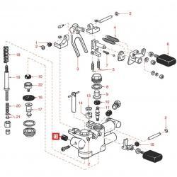 Уплотнитель клапана ø 11x7x7 мм EPDM, 400-294-000