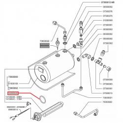 Уплотнитель Viton O-Ring, 1186403G