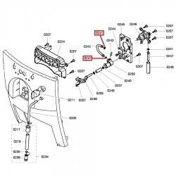 Уплотнительное кольцо 7x3,4x1,9 мм 1 шт. Bosch, 425970