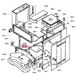 Контейнер для отработанного кофе Bosch, Siemens 6 серии, 490228