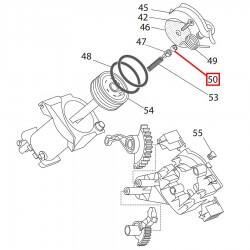 Крышка клапана крема заварного устройства Delonghi EAM, ESAM, 5332139600