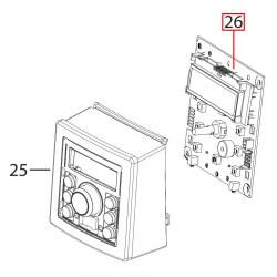 Плата управления с дисплеем ECAM23.450.S EX3, 5513220041