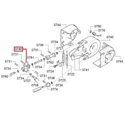 Клапан термоблока Y-образный, 00627737