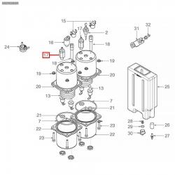 """Расширительный клапан 1/8""""-7 мм, 73012002"""