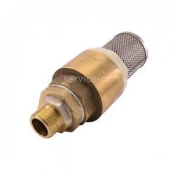 Обратный клапан с сеткой, выходная наружная резьба 9.5 мм, 81029021