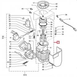 Кофемольный блок 220/230В 50/60Гц Saeco, 9140.001.00A