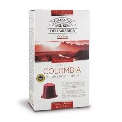 Капсулы для Nespresso, кофе Dell Arabica Colombia, 10 шт