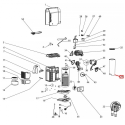 Бункер (контейнер) воды Nespresso EN110, FL93939