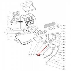 Уплотнитель OR 03118, ø 35,06x29,82x2,62 мм, EPDM, 3186458