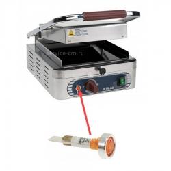Индикатор оранжевый 230 В, ø 20 мм голова, посадочное отверстие ø 10 мм, 120°C, SPAB03