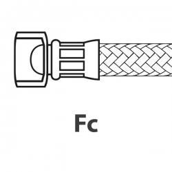 """Шланг армированный водопроводный ø1/4"""" , 450мм, 90°C, 10 Бар, WGADM1986"""