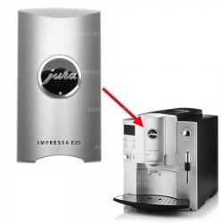 Декоративная панель диспенсера кофе серая Impressa E25 Jura, 64674