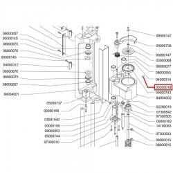 Винт без головки M4x6 Nuova Simonelli, 00300019