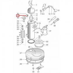Уплотнитель медный ø 18.7x13x2.5 мм, 12100