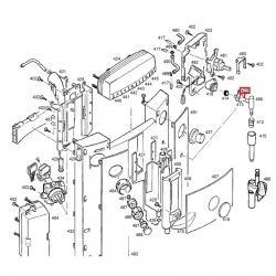 Трубка для пара/воды металлическая Impressa Jura, 63352