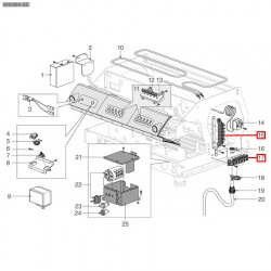Клеммная колодка на шесть контактов FV122/B 40A 600В, 150°C, WGADM1930