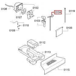 Шланг с переходником Bosch, Siemens, Neff и Gaggenau, 00654026