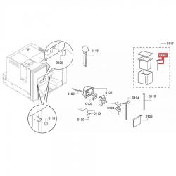 Трубка для кофемашины Bosch, 00653501
