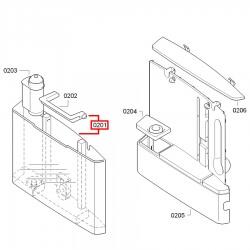 Бункер воды для Bosch/Siemens TCA 7xxx TE 7xxxx TES, 00672049