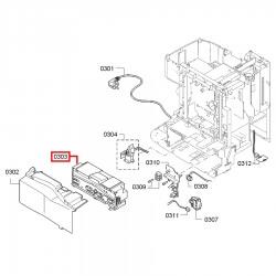 Модуль силовой для кофемашины Bosch TES501, Siemens TE501, 11002478