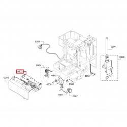 Силовой модуль управления Bosch TES503, 506, Siemens EQ.5 ТЕ503, 506, 00746113