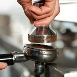 Темпер из полированного алюминия ø 57 мм Motta, 01360
